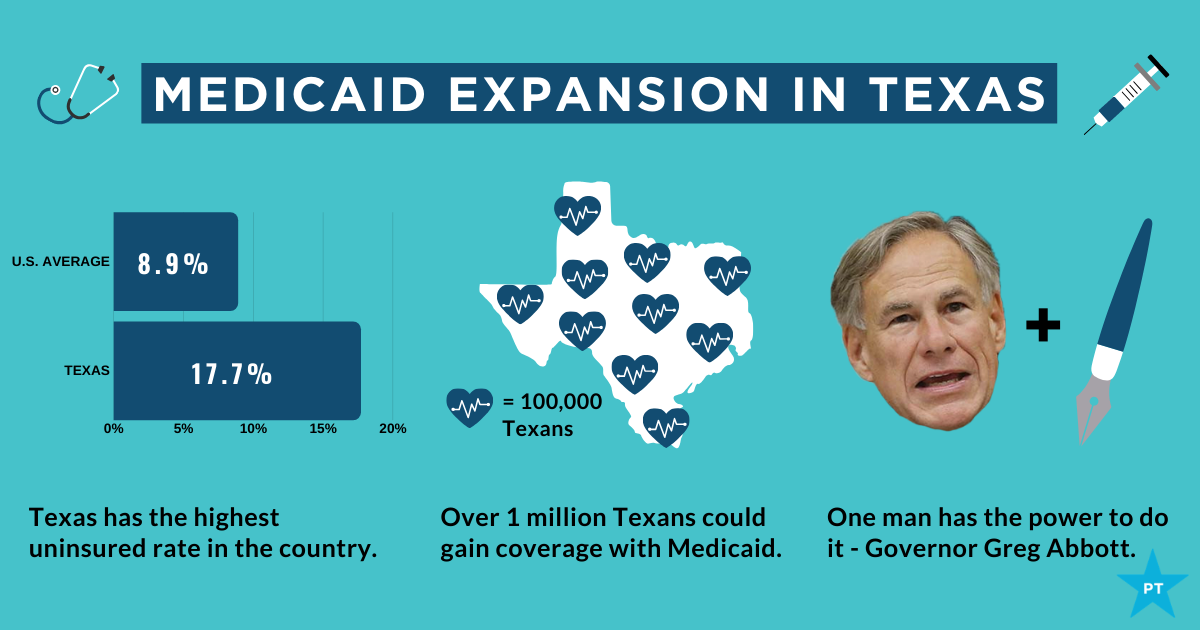Medicaid expansion could give insurance to over one million Texans |  Progress Texas