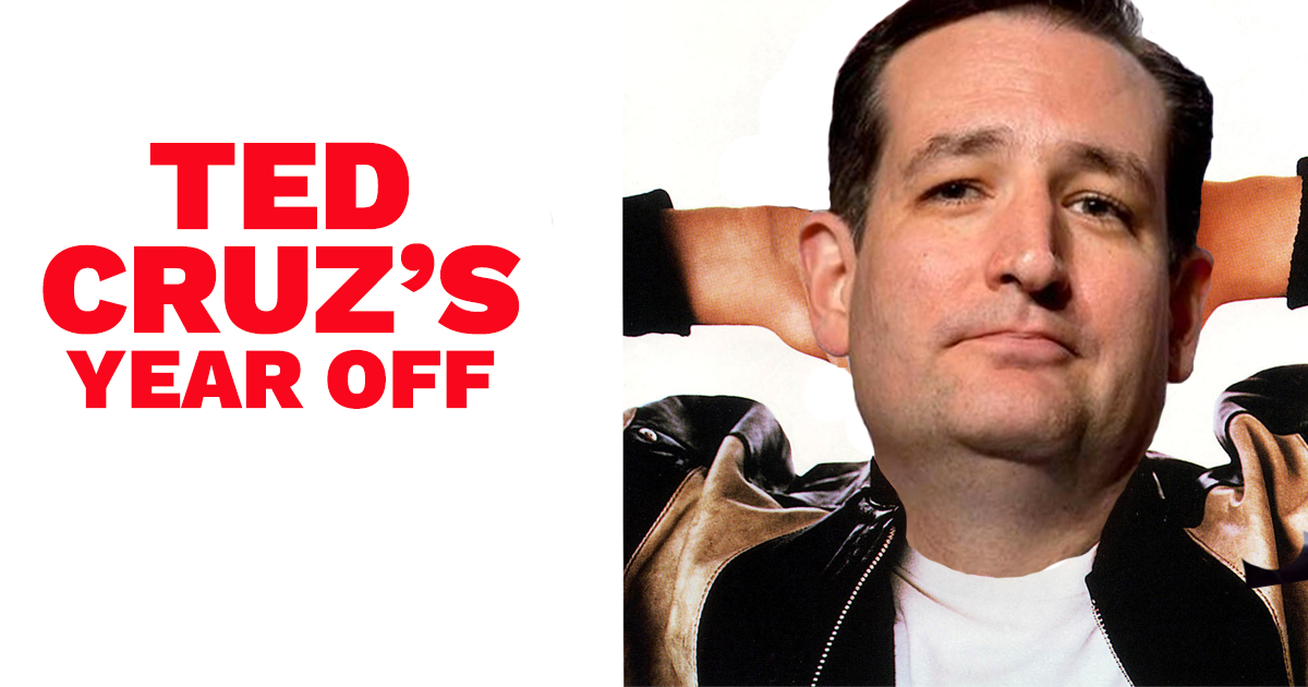 Ted Cruz: Roadblock to Justice