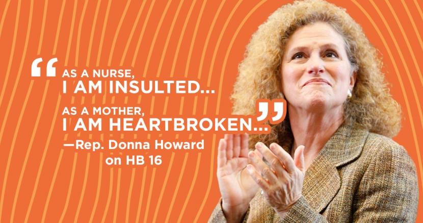 Donna Howard HB 16