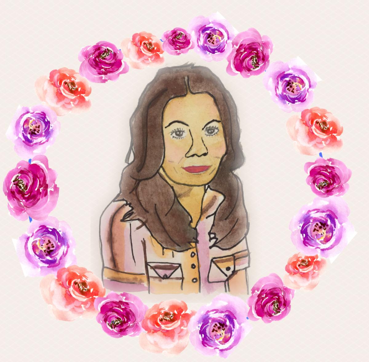 Artwork of Rosie Jiménez by Erika Galindo, Lilith Fund