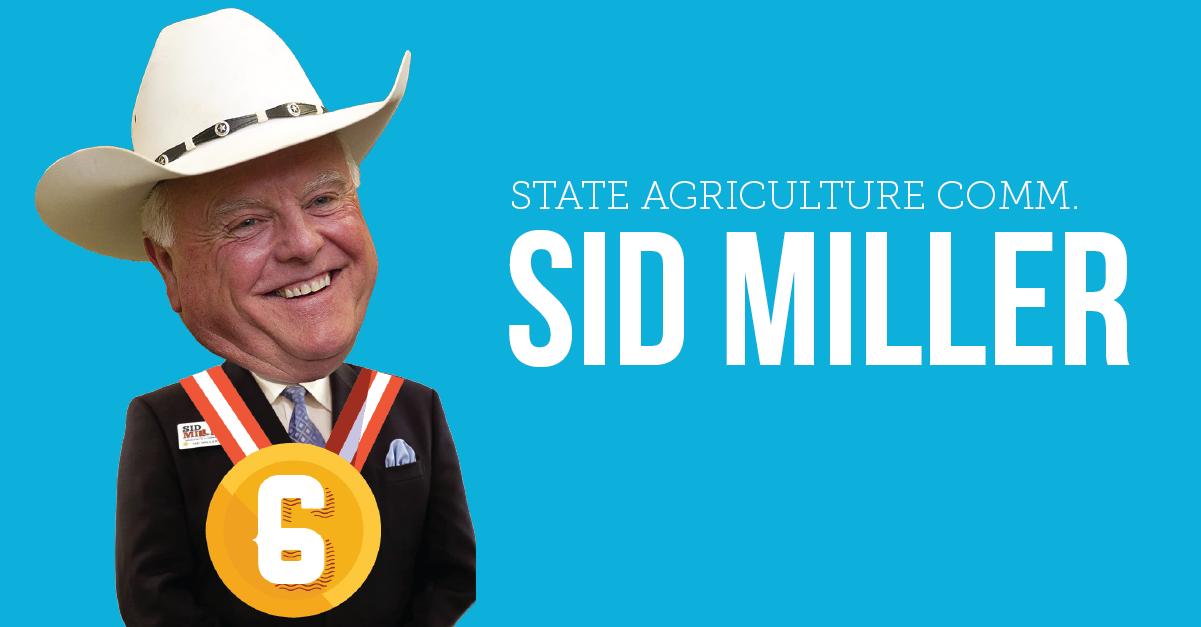 Sid Miller Worst Texans 2015