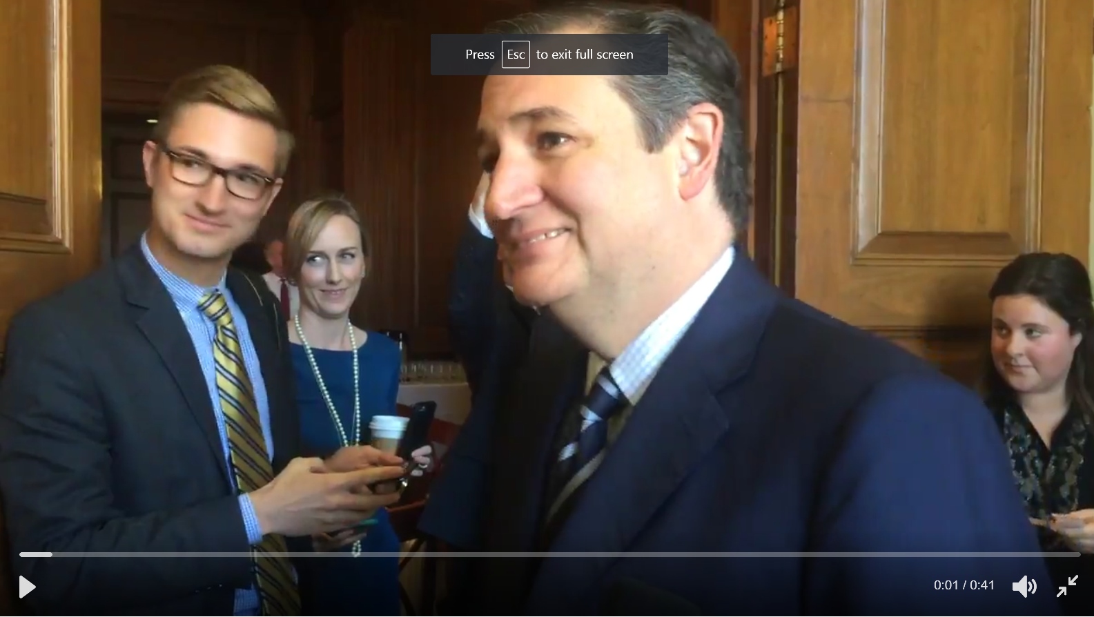 Ted Cruz Queso, Second 1