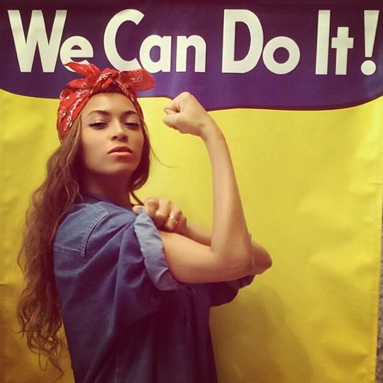 Beyonce - We Can Do It Meme