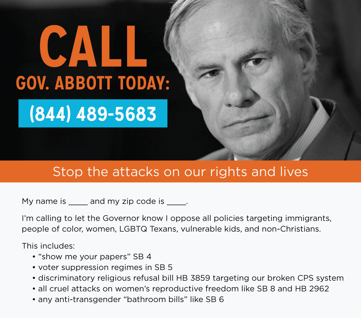 Greg Abbott Texas Legislative Session Call