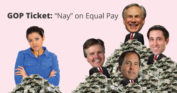 GOP Ticket Equal Pay