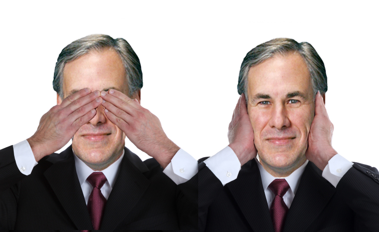 Greg Abbott - See No Evil