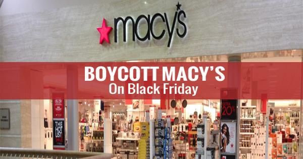 Macy's Boycott