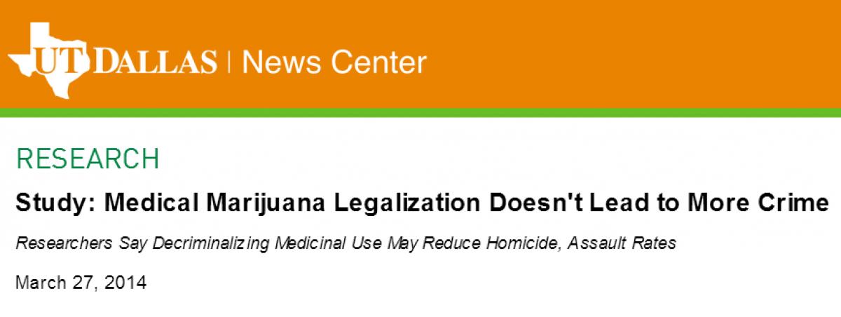Marijuana Crime Myth