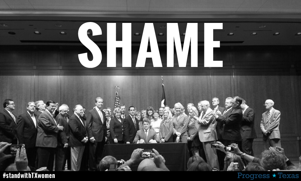Rick Perry Shame