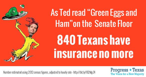 Ted Cruz - Green, Eggs & Ham