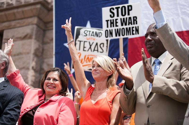 Wendy Davis SWTW Rally