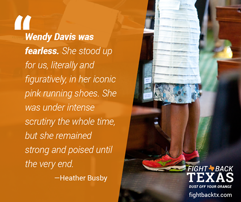 Wendy Davis Quote Image