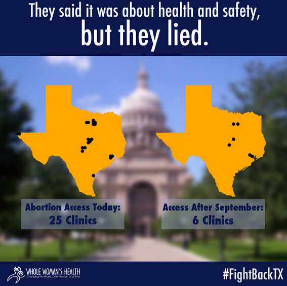 Whole Woman's Health Files #FightBackTX Lawsuit