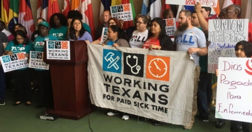 Dallas and San Antonio Launch Paid Sick Day Ballot Initiatives