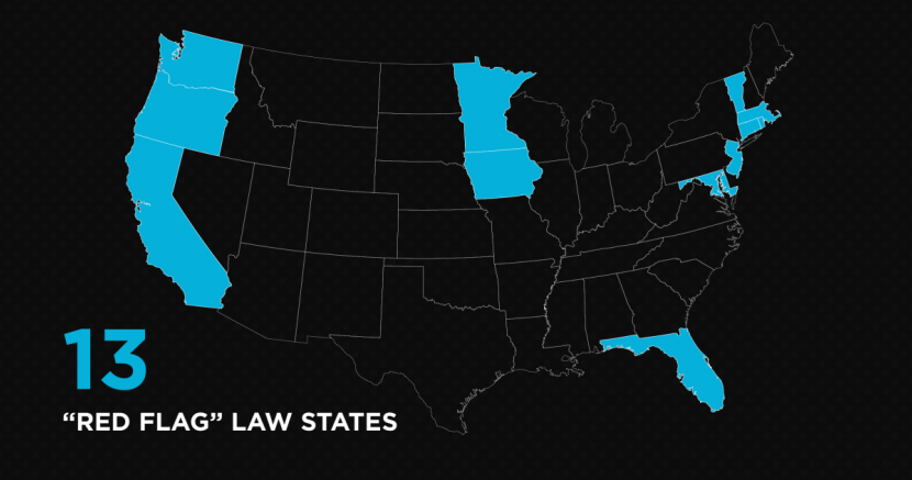 Red Flag Law states in the US
