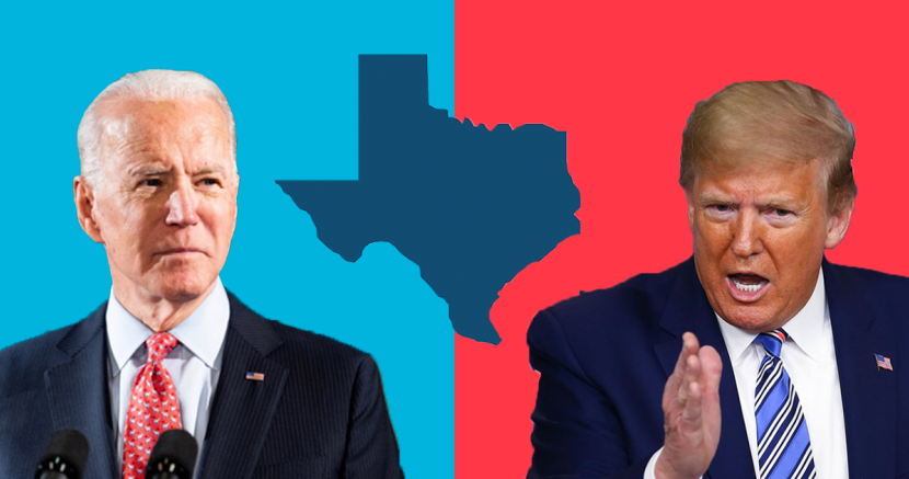 New poll shows Biden within striking distance of Trump in Texas