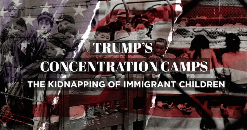 Trump Concentration Camp Children Immigrants Texas