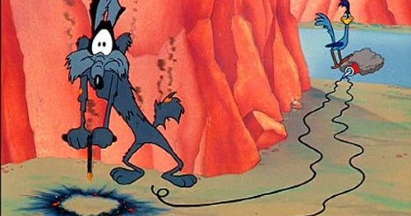 Image result for wile e coyote trap