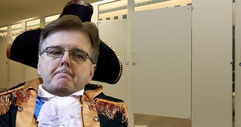 Dan Patrick Transgender Discrimination Bathroom Texas