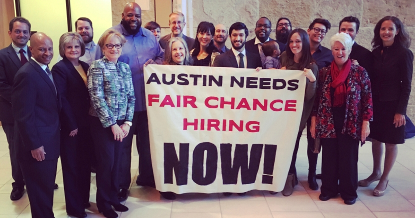 Austin First City in the South to Adopt Fair Chance Policy for Workers