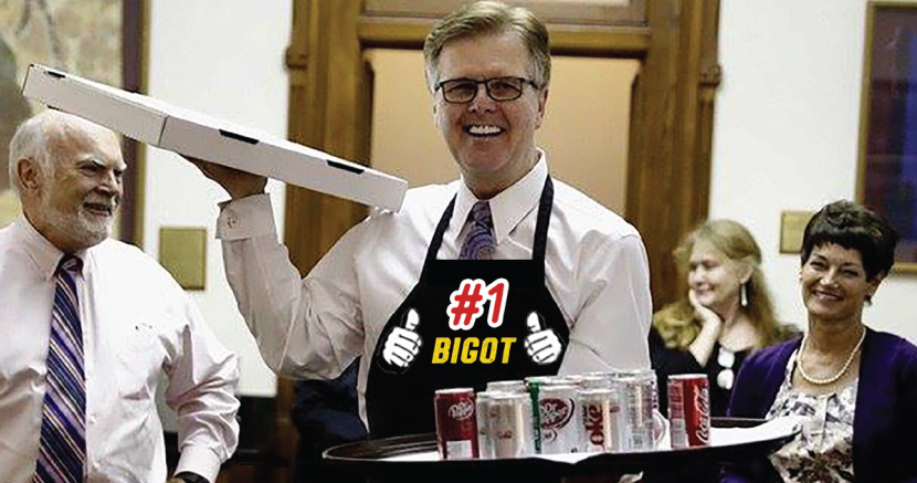 Dan Patrick Texas Senate Bathroom Bill Bigot