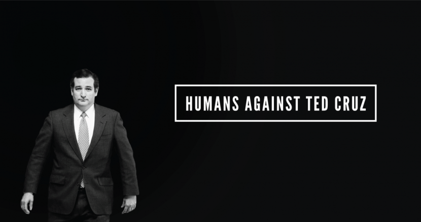Stories of Humans Against Ted Cruz