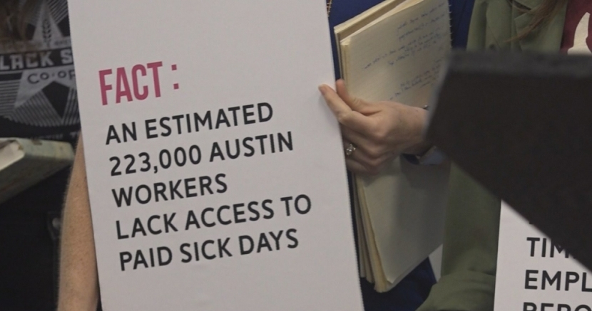 Texas republicans mount opposition to paid sick days