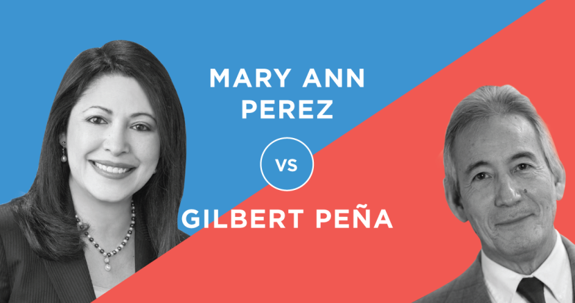 Houston State House District - Mary Ann Perez v Gilbert Pena