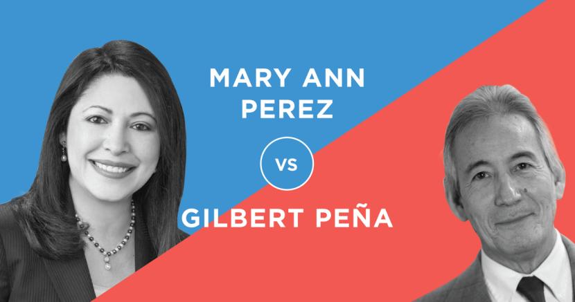 Houston State House District - Mary Ann Perez v Gilbert Pena