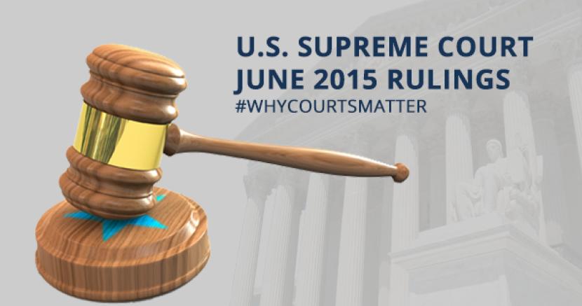 SCOTUS 2015: First Amendment Rights Reaffirmed