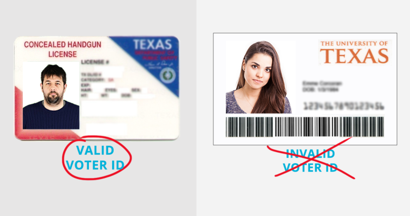 Law Gun Licenses Student Allows Voter Updated Id's Texas Not Id Progress