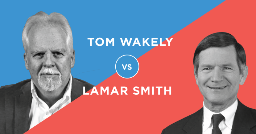 Tom Wakely v. Lamar Smith