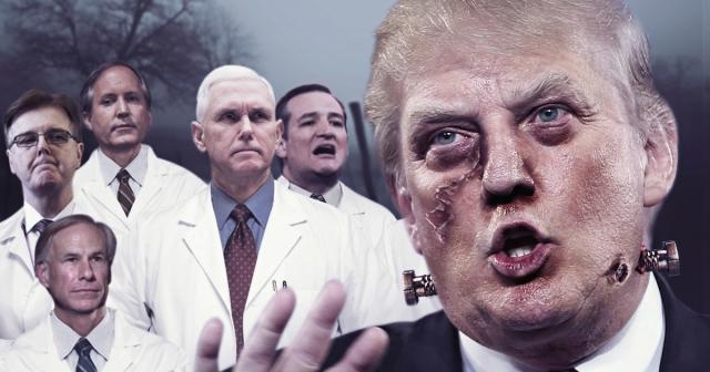 Trump Texas Republican GOP Monster