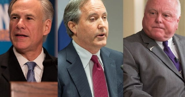 Greg Abbott, Ken Paxton, Sid Miller