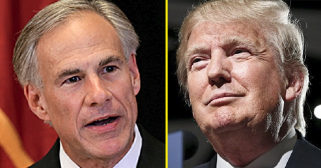 Greg Abbott & Donald Trump