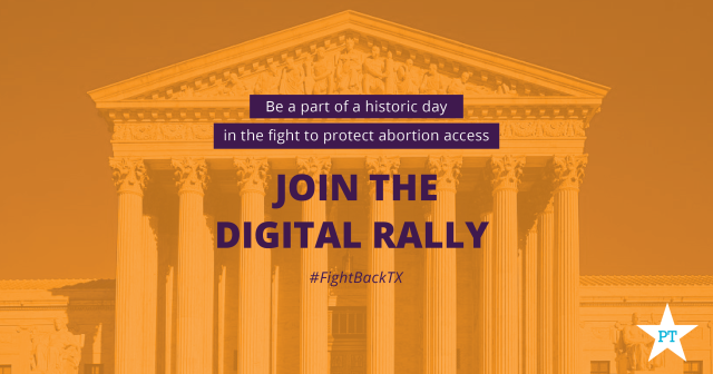 Supreme Court Abortion Rally Fight Back Texas