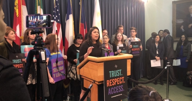 Trust Respect Access Press Conference