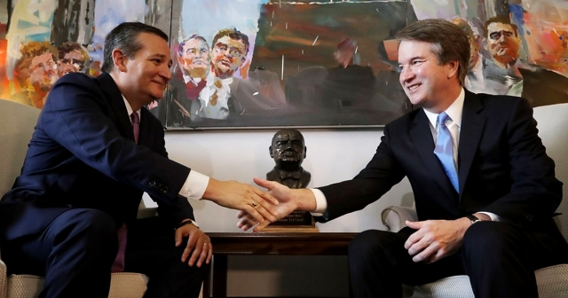 Ted Cruz and Brett Kavanaugh