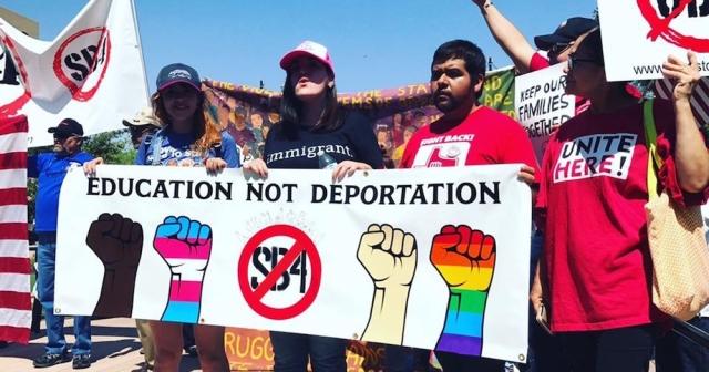 DACA protest Texas