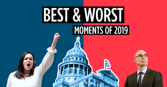 Progress Texas' Best and Worst of 2019