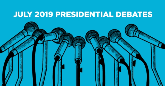 July Democratic Presidential Debate
