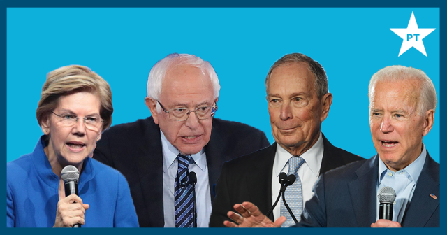 The Texas 2020 Democratic Primary: With and without Bloomberg