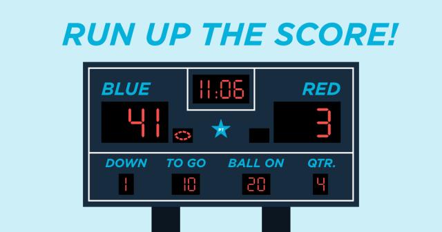 Run Up The Score