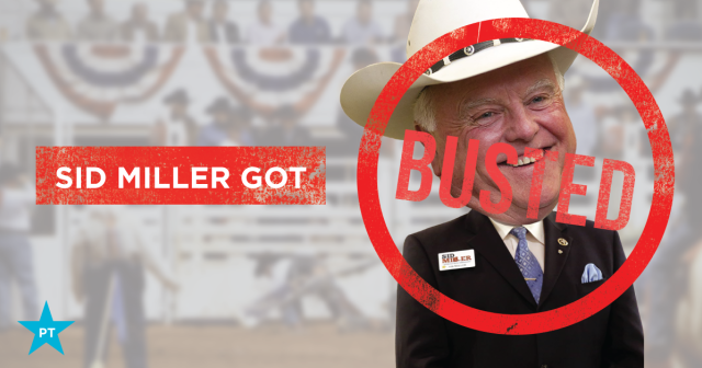 Sid Miller Under Investigation Got Busted