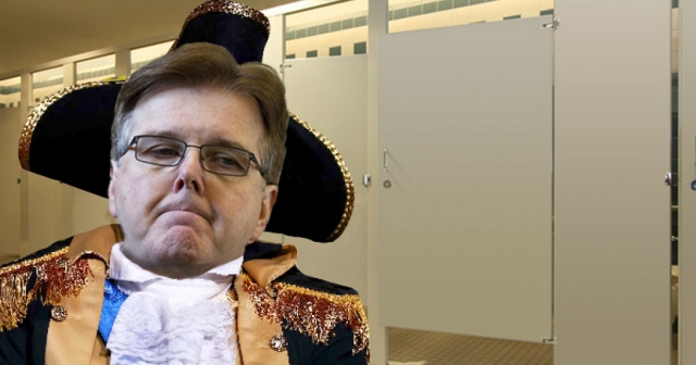 Dan Patrick Transgender Discrimination Bathroom Texas