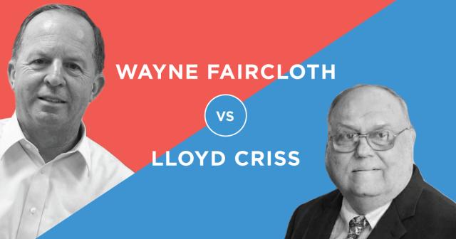 Lloyd Criss v Wayne Faircloth