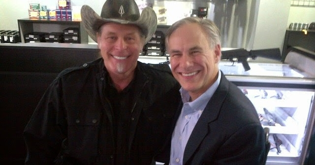 Greg Abbott and Ted Nugent