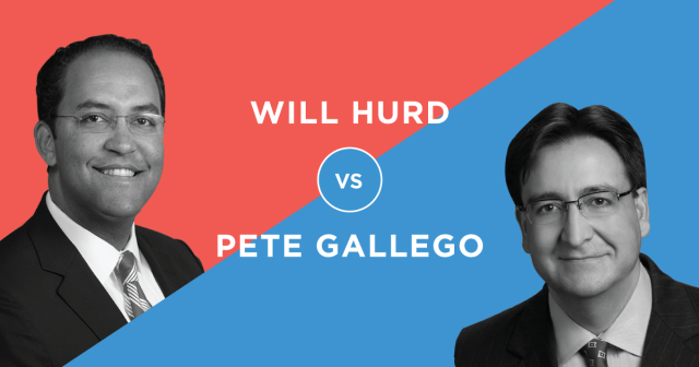 Will Hurd Pete Gallego Texas 23