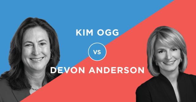 Kim Ogg v Devon Anderson