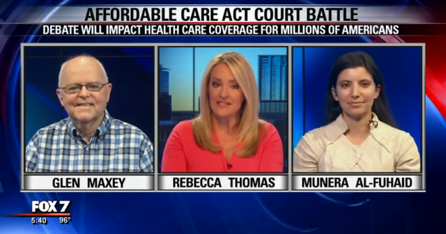 Glen Maxey on FOX - ACA